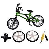 Segolike Model Bike Bicycle Simulation Mountain Road Train Railway Scenery Layout Scale 1/24 Toys