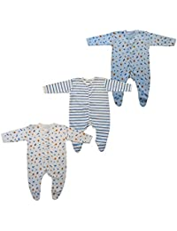Brim hugs and cuddles cotton JUMP SUIT for baby boy/baby girl (pack of 3)