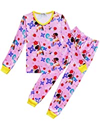 Unisex Moana Pijamas para niños Traje de Moda para Niños Servicio de Mantenimiento en Casa Traje