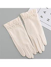 2018 Neue Sommer Frühling 1 Para Sonnencreme Fingerlose Hochzeit Frauen Lange Spitze Handschuhe Fahren Handschuhe Armstulpen Solide Bekleidung Zubehör