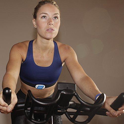 Wahoo Fitness TICKR Monitor de Frecuencia Cardíaca, Unisex, Blanco, Bluetooth/Ant+