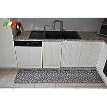 Alfombra cocina lavable antideslizante - Alfombras cocina amazon ...