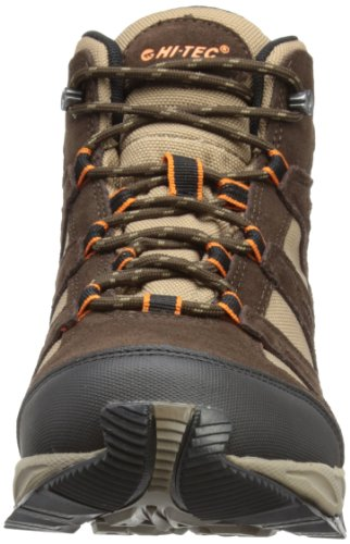 Hi-Tec  Alto Mid Wp, Hommes Bottes homme Marron - Dark Chocolate/Taupe/Orange