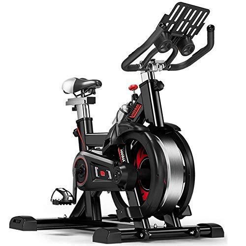 DFMD Professionelle Indoor-Heimtrainer - Home Unisex Gewichtsverlust Bauch Fitness Fahrrad Coole Rad Anti-Rutsch-Pedal Sicherheit Schutz Schwungrad Multifunktions-Sport-Fahrrad
