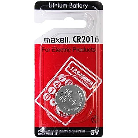 Maxell - Pila botón litio blister CR2016 MAXELL 3V 90mAh - Blister(s) x 1