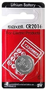 Pile CR2016 Lithium 3V Maxell