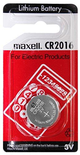 Maxell lithium CR2016 2016