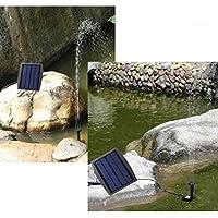 Bluelover 7.2 v energia solare giardino paesaggio fontana pompa ad acqua senza spazzola elettrico deposito CC