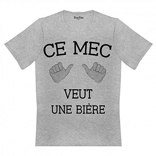 Veni Vici Herren T-Shirt Grau