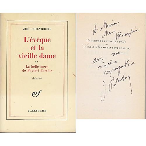 L Eveque et la Vieille Dame DEDICACE Envoi CATHARES Albigeois