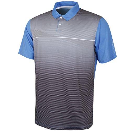 Insel grün Herren igts1853Große Polo Shirt, China blau/weiß, L Chino Golf