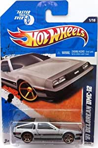 Hot Wheels 2011, 81 Delorean DMC-12, #141/244. Faster than ever. 1:64 Scale.
