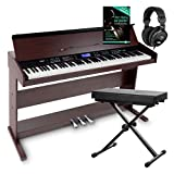 FunKey DP-88 II Digitalpiano Set (88 anschlagsdynamische Tasten, 360 Sounds, 160 Styles, MP3-Player, inkl....