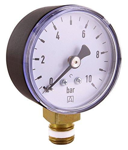Cornat DMMU14  Manometer 1/4  Anschluss von unten - Gas-wasser-heizung-teile