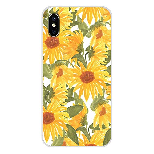 Handy-Shell Fall Hippie Ästhetik gelbe Muster für iPhone X XR XS MAX 4 4S 5 5S 5C SE 6 6S 7 8 Plus iPod Touch-5 6 in der Hälfte, Bilder 2, für iPhone 8