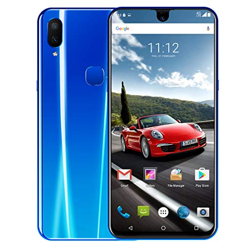 6,2 Zoll Dual HD Kamera Wassertropfen Bildschirm Android 8.1 2G + 32G GPS 3G Smartphone Selfie Kamera Touch-Display Frontkamera