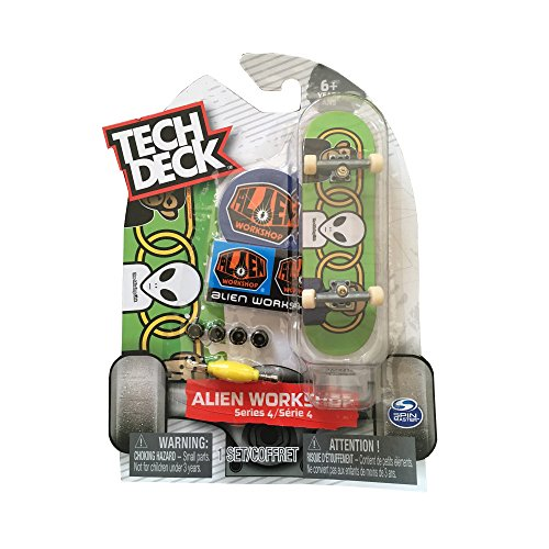 Tech Deck Fingerboard 96mm – Alien Workshop Series 4 (Alien Workshop Series 4 Green)