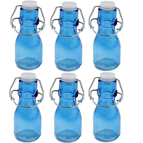 asche mit Schwingdeckel-Blau (Swing-top-glas-flaschen)