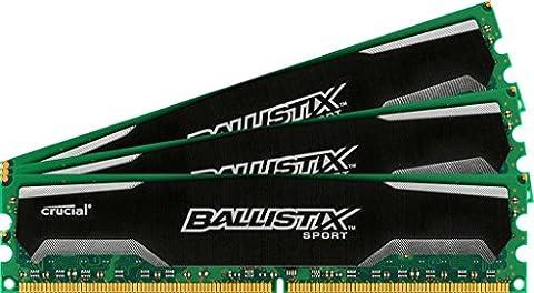Ballistix Sport 32GB Kit (8GBx4) DDR3 1600 MT/s (PC3-12800) UDIMM 240-Pin - BLS4CP8G3D1609DS1S00BEU