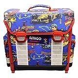 AMIGO 01102 Schulranzen Formel 1 Schultasche Einschulung Schultasche Rucksack