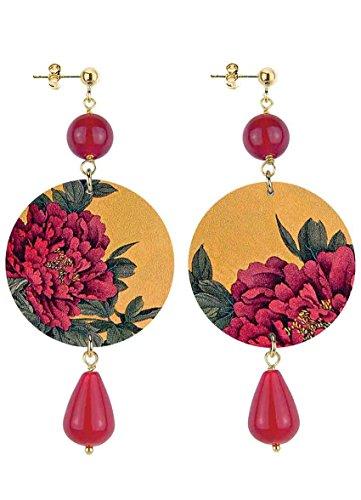 Lebole Gioielli Orecchini Collezione The Circle - 39 rubino