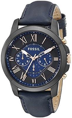 Reloj Fossil Grant Fs5061 Hombre Negro