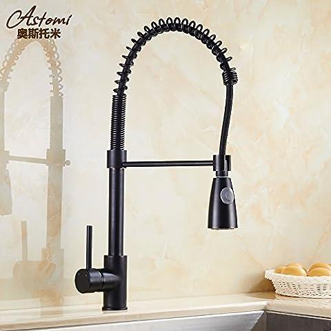 OrgsevTutti Cu tirare il rubinetto di cucina Continentale Piscina piatto BasinSink rubinetti rubinetti StretchBathroom