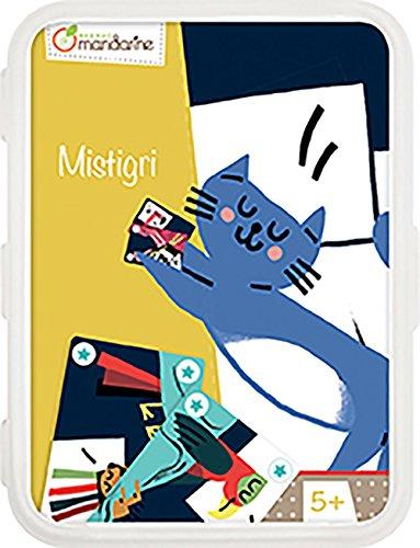 Decopatch-CO099O-Avenue Mandarine Mistigri-Juegos de Cartas