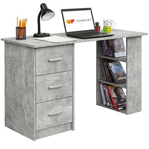 COMIFORT Escritorios, Mesa de Oficina, Escritorio de Despacho, 120x49x72