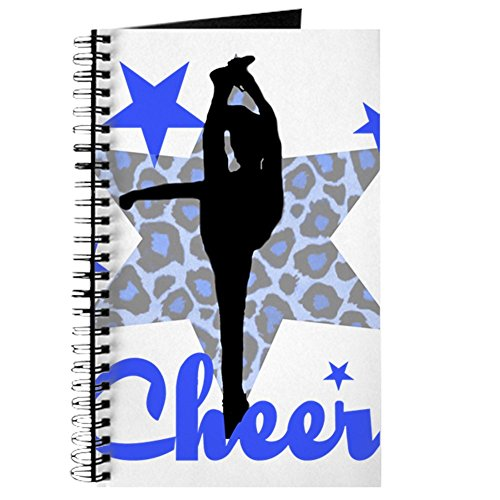 Cheerleader-mama Shirt (CafePress - Blau Cheerleader - Spiralbindung Journal Notizbuch, persönliches Tagebuch, blanko)