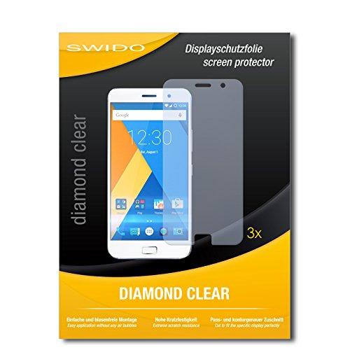 3 x SWIDO® Schutzfolie Lenovo Zuk Z1 Bildschirmschutz Folie