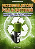Accumulatori, pile e batterie. Nikel, cadmio, nikel metal, hydride, litio, alcalina, manganese e piombo ermetico