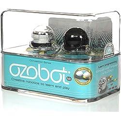 Ozobot, Robot Bit 2.0, Confezione da Due (Bianco e Nero)