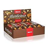 Prozis NUT00/1399080344 Barres Protéinées Barlicious En-Cas sans Remords Goût Chocolat au Lait 6 x 65 g