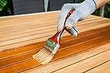 2,5L Holzschutzgrundierung Farblos auf Alkydharz Basis für innen und außen | BEKATEQ Grundierung für Holz Fenster, Türen, Balken Holzgrundierung Haftgrundierung Holzschutzgrund Tiefengrund