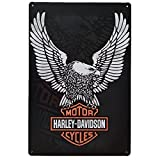 Placas Decorativas Vintage metalicas Harley Davidson Carteles chapas Pared Retro