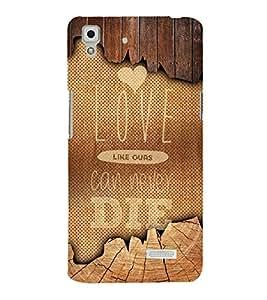 Fuson Designer Back Case Cover for Oppo R7 :: Oppo R7 Lite ( Love Quotes Inspiration Emotion Care Fun Funny )