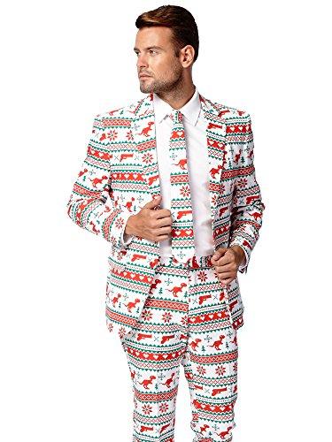 Opposuits Weihnachtsanzüge für Herren Besteht aus Sakko, Hose und ()