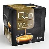 Qbo Kapseln - Caffè Jebena Yirga (Kaffee, leicht und hocharomatisch, fruchtige Anklänge von Jasmin, 100% Arabica) (8x27 Kapseln)