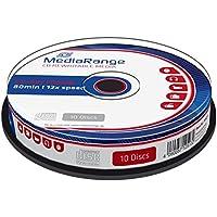 MediaRange MR235 CD-RW 700MB 10pieza(s) CD en blanco - CD-RW vírgenes (CD-RW, 700 MB, 10 pieza(s), 80 min, 12x, Caja para pastel)
