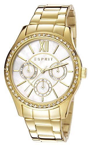 Esprit-Damen-Armbanduhr-Paige-Analog-Quarz-Edelstahl