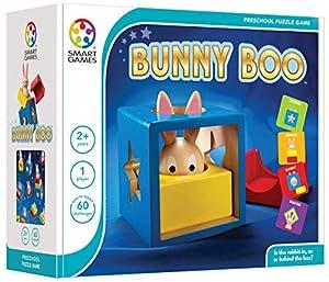 smart games- Bunny Boo Juego de Madera, Multicolor (SG037)