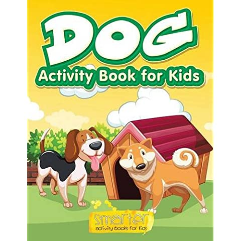 Dog Activity Book for Kids, Activity Book - Dog Activity Book