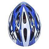 Erwachsene Jugend Mountainbike Radfahren Rennrad MTB Helm verstellbar in blau Größe :53-61cm