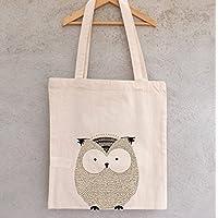 Tote Bag Petite chouette - sac enfant - sac à joujoux
