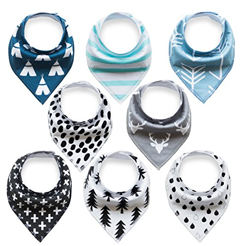 baby-bandana-drool-bibs-with-snaps-8-pack-for-boys-and-girls-super-absorbent-soft-and-modern-best-ba