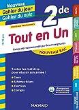 Tout en un 2de, 15-16 ans : toutes les matières pour réussir son année ! : nouveaux programmes, nouveau bac / Fabrice Fortain, Christian Mariaud, Michelle Folco et al.  
