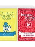 Chaoskarten Hochzeitsspiel - Kombipack 2 - Hochzeitsspiel + Karmakarten - Das Original