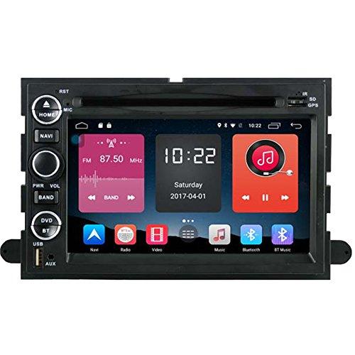 autosion in Dash Android 6.0Auto DVD GPS Player Radio Haupteinheit Navigation Stereo für Ford F-150F-250F-350Fusion Explorer Edge Expedition Taurus unterstützt Bluetooth SD USB Radio OBD WIFI DVR 1080P