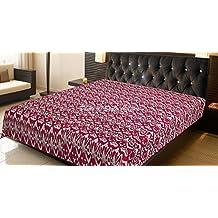 Stylo cultura algodón ropa de cama, doble, diseño de Magenta Kantha Colcha